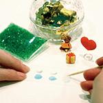 デコレーションオルゴール体験教室画像